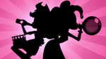 Silhouette of Applejack and Pinkie Pie EG2