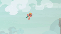 Somnambula positioned in the air S9E24