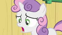 """Sweetie """"getting stuck with a cutie mark you didn't like?"""" S5E04"""
