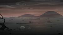 The barren wasteland S5E26