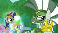 "Zecora ""but let's not talk here"" S5E26"