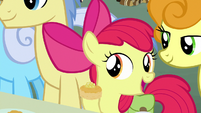 "Apple Bloom ""you must be new"" S7E13"