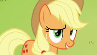 """Applejack """"we'll see if that Svengallop truly"""" S5E24"""