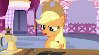 Applejack criticizing Inky Rose's design choices S7E9
