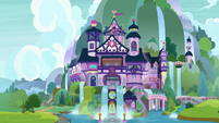 Exterior view of School of Friendship S9E3