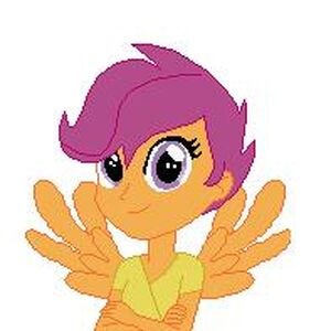 User Blog Artisticloner Fanmade Scootaloo Images My Little Pony Friendship Is Magic Wiki Fandom Everyone's seen scootaloo going about in her combat trousers and riding her scooter to canterlot high! artisticloner fanmade scootaloo images