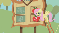 Fluttershy after the lasso contest S01E13
