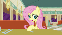 Fluttershy thinking about what she has to say S6E9