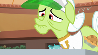 Granny Smith sees her nachos are gone S8E5