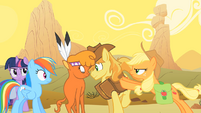 Little Strongheart and Braeburn Forced Meeting S1E21