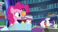 """Pinkie Pie """"you figured something out?"""" S7E25"""