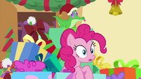 Pinkie Pie having a realization MLPBGE