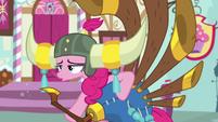 Pinkie Pie stops playing the yovidaphone S8E18