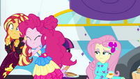 Pinkie pushes Sunset to the festival again EGSBP