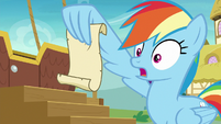 "Rainbow Dash ""don't get too excited"" S8E5"