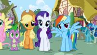 Rainbow Dash sad S1E2