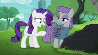 """Rarity """"glad to see that you like the pouch"""" S6E3"""