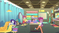 Rarity in a very busy sewing room EGROF