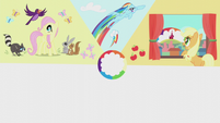 Slide of Applejack's cutie mark moment S5E25