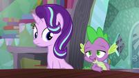 "Spike ""Technically, she's more of a student than a protégé"" S6E2"