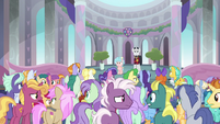Students unnerved by Neighsay's announcement S8E26