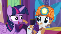 Twilight --I think we might want something a little more practical-- S6E5