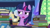 """Twilight Sparkle """"isn't going to help right now"""" S7E26"""