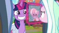 Twilight asks Winter Lotus about Dusty S9E5