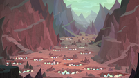 Wide view of Dragon Lands hatching grounds S9E9