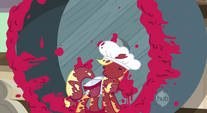 Applejack cherry splat S2E14