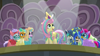 """Fluttershy """"time for a new day in Equestria!"""" S8E7"""