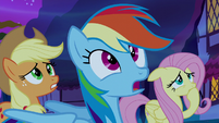 "Rainbow Dash ""I think we'll know"" S5E13"