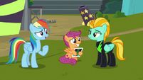 """Rainbow Dash """"glad it all worked out"""" S8E20"""
