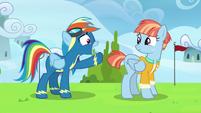 "Rainbow Dash ""mom, please!"" S7E7"