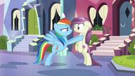 Rainbow Dash Crystal Empire Interrogate S3
