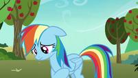 Rainbow Dash feeling very uncertain S8E5