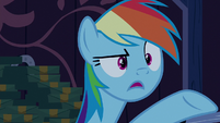 "Rainbow Dash upset ""yeah!"" S6E15"