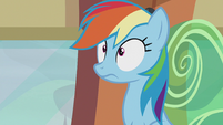 Rainbow surprised S5E8
