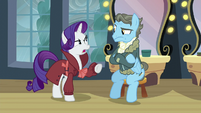 """Rarity """"Perhaps after they dropped off the fake letter"""" S5E15"""