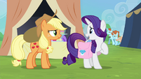 """Rarity """"she'll definitely be able to get it"""" S4E22"""