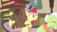 S02E23 Apple Bloom pokazuje babci książkę