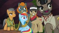 S06E13 Związani Quibble i Rainbow