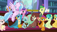 Silverstream squealing with excitement S8E15