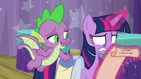 """Spike """"this is just a game"""" S9E16"""