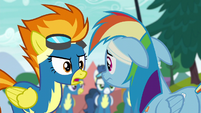 Spitfire --changed the routine without consulting me-- S6E7