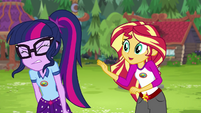 """Sunset Shimmer """"you could learn to control it"""" EG4"""