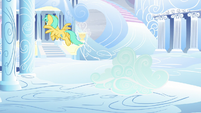 Sunshower Raindrops flying S5E5