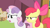 Sweetie Belle 'Ms. Harshwhinny never said anything about that!' S4E05
