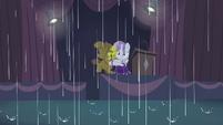 Sweetie Belle in the rain S4E19