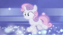 Sweetie Belle running after Luna S4E19